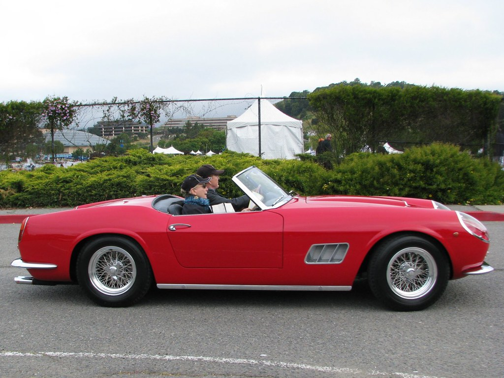 1961 Ferrari 250 Gt Swb California Spyder 2 Photographed A Flickr