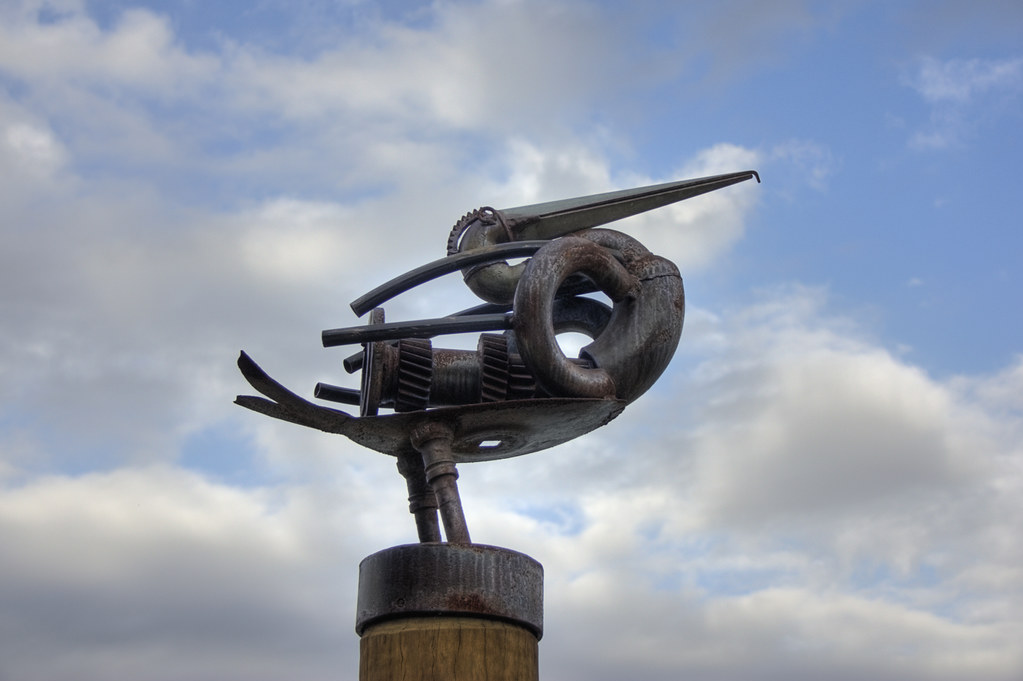 Pelican Sculpture by Stevpas68