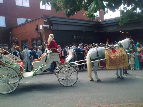 Wedding Horse and Carriage hire Coventry Midlands | by Asian Wedding Horses