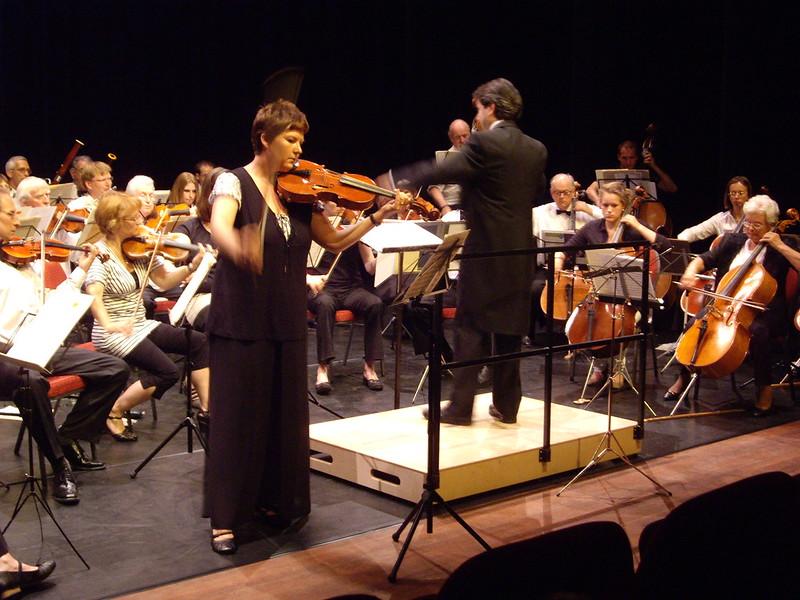 Mariska Rijk soliste in Fantasie van Bruch