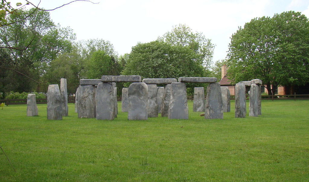 Michigan's Stonehenge | I was driving in a rural area of Ott