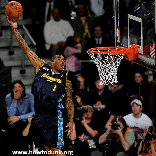 JR Smith Dunk | by HowtoDunk.org