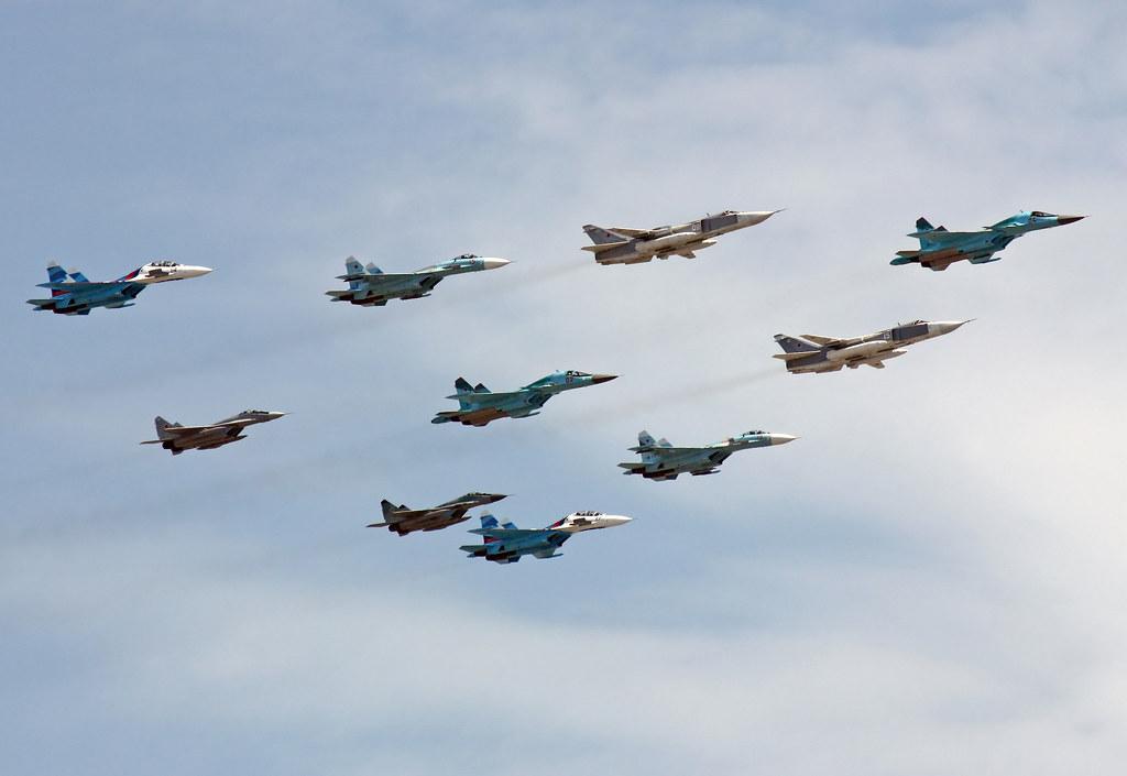 Sukhoi Su-34, Sukhoi Su-24M, Sukhoi Su-27, Sukhoi Su-30, M… | Flickr