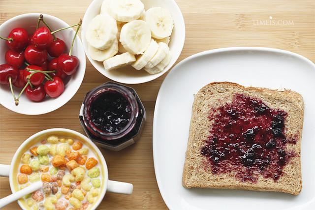 早餐6/11 有愛的藍莓醬