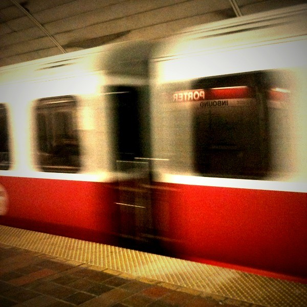 Red Line at Porter Square Station (Red Line Series No. 6)