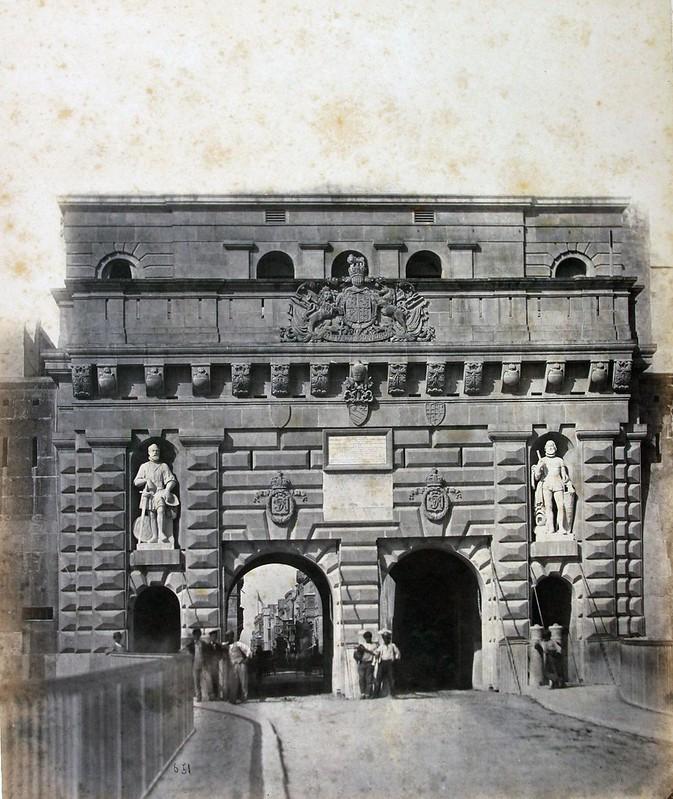 Valletta - Bieb il-Belt (Putirjal) c.1870