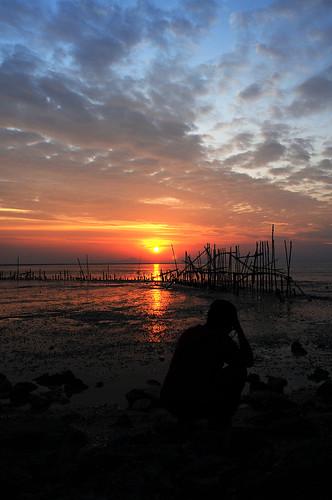 sunset silhouette best iwan nikkor20mmf28d nikond300 kgwaikualaperlis