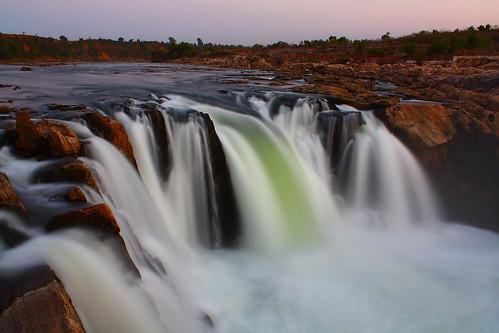 india nature water canon river landscape eos waterfall narmada jabalpur 450d canonefs1855mmf3556is aksveer