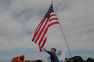 Even our children reach for freedom...