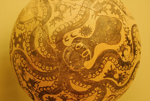 Minoan Octopus Pottery | by goingslowly