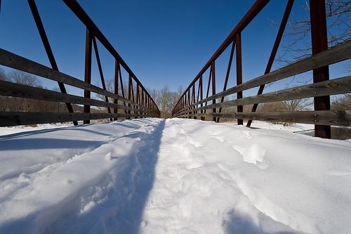 bridge winter ohio snow landscape geotagged nikon raw nef towpath uwa cs4 ohioeriecanal d3s clintonohio nikkor1424f28 summitcountyohio nikongp1 pse8