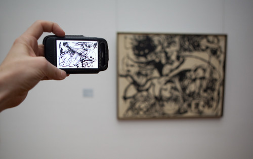 Pollock via iPhone and Pollock via Pollock | by Matthew Ditton