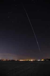 ISS Flyover 3/3/10 | by BenSeese