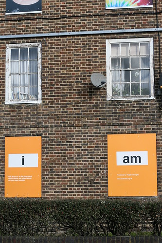 "Samuel House, Dunston Road Hackney - ""i am here"" Art Project 