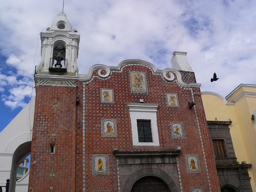 Templo del Antiguo Hospital de Nuestra Señora de Belén, 18th Century, Puebla
