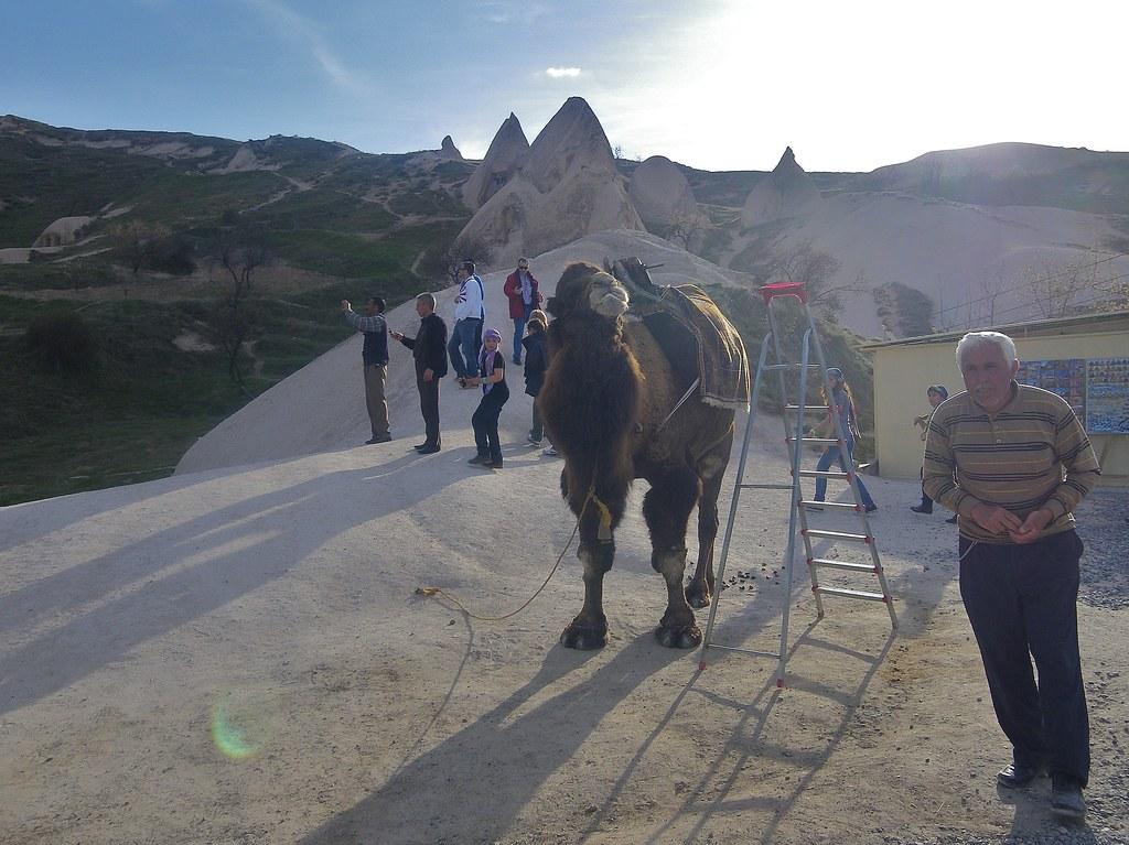UÇHISAR IN CAPADOCIA, TURKEY