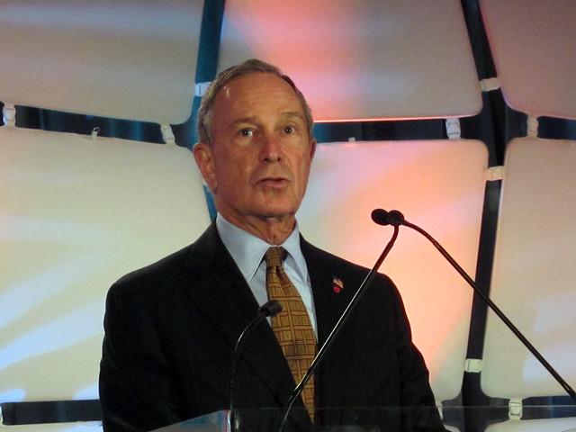 Bloomberg speaks at TechCrunch Disrupt 2010