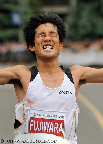 Arata Fujiwara - Ottawa Marathon Winner | by johnwmacdonald