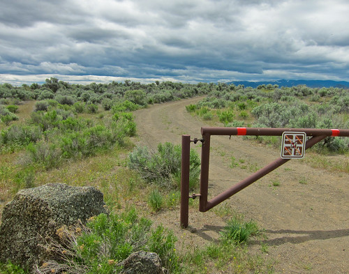 Trail Run - Lava Beds National Monument