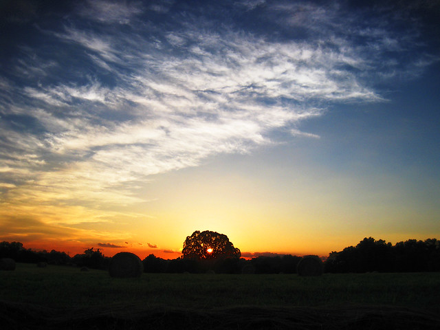 Sunset on Dodson Chapel Rd, Overton Co, TN