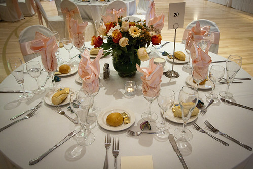 Wedding table setting | by andrewmalone