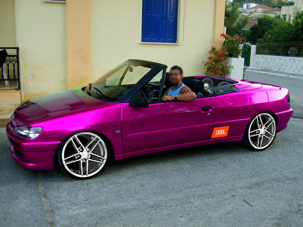 Peugeot 306 Cabrio In Kefallonia Virtual Tuning Jimgreetingsfromgreece Flickr