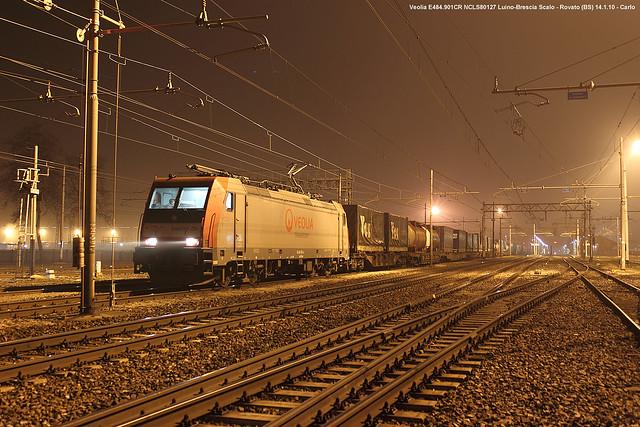 Veolia E484.901CR NCLS80127 Luino-Brescia Scalo - Rovato 14-1-10