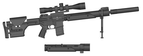 M16a4 Dmr With Free Float Handguard Nothing Special Handg Flickr