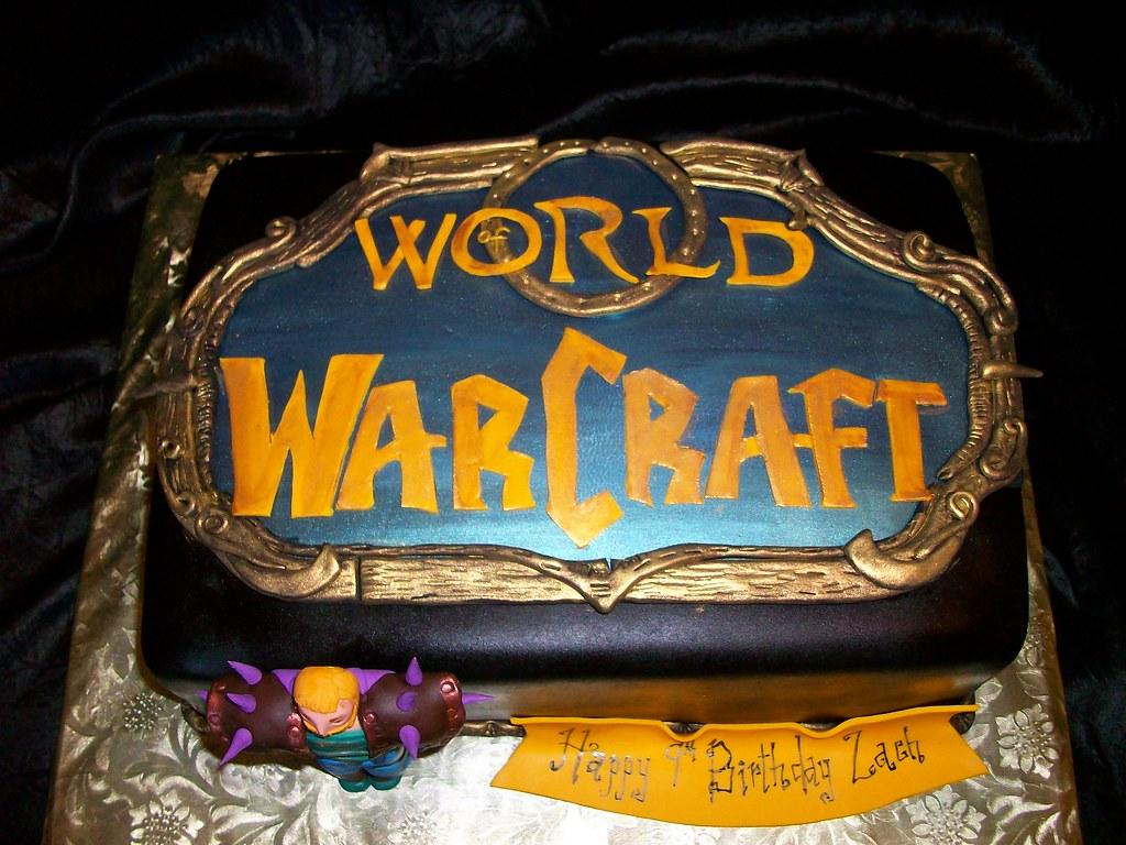 World of Warcraft Birthday Cake | Sandra Durbin | Flickr