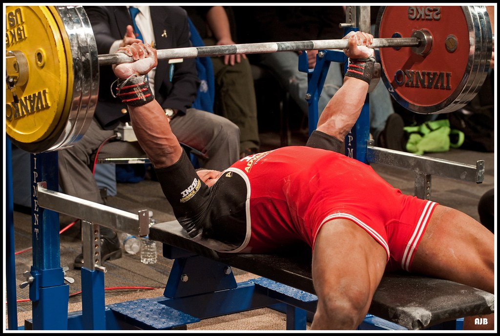 Bench Press by A. Blight