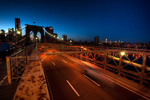 Twilight At The Brooklyn Bridge | by Definitive HDR Photography