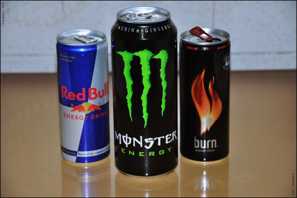 top 10 energy drinks