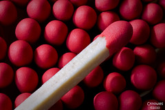 Match tips with match stick | by The Knowles Gallery