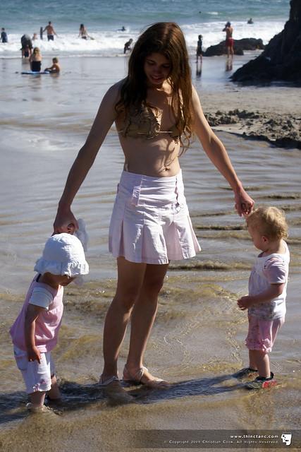 Hayley with Amelie & Lara