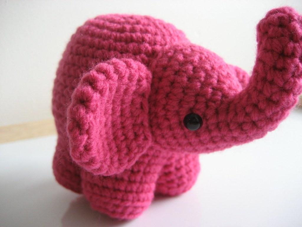 Crochet Elephant Lovey Pattern - Crochet News | 768x1024