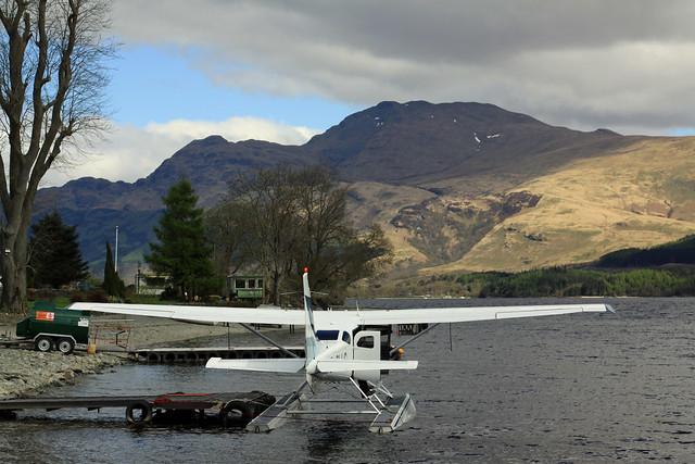 Float Plane,  Culag,  Loch Lomond,  Scotland