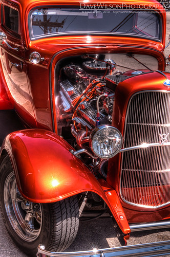 orange reflection ford car shiny texas tx photoblog chrome hotrod vehicle hdr v8 gruene 3exp