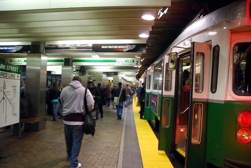 MBTA Green line subway | by BeyondDC