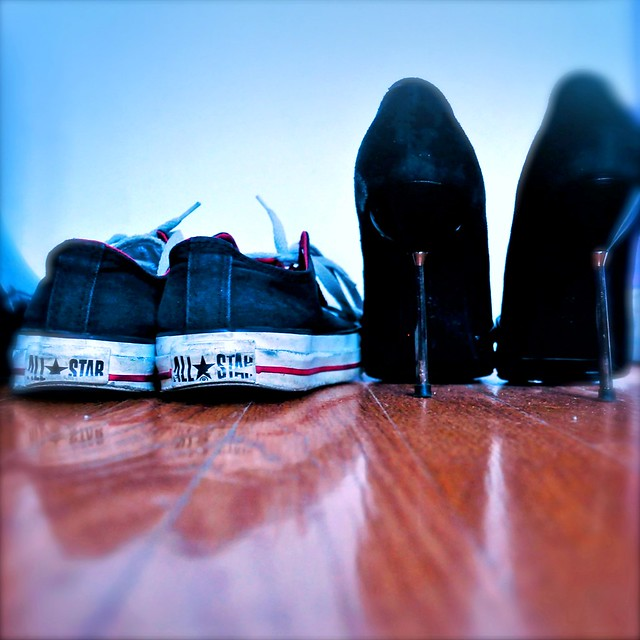 """""""Give a girl the correct footwear and  she can conquer the world""""  -Bette Midler"""