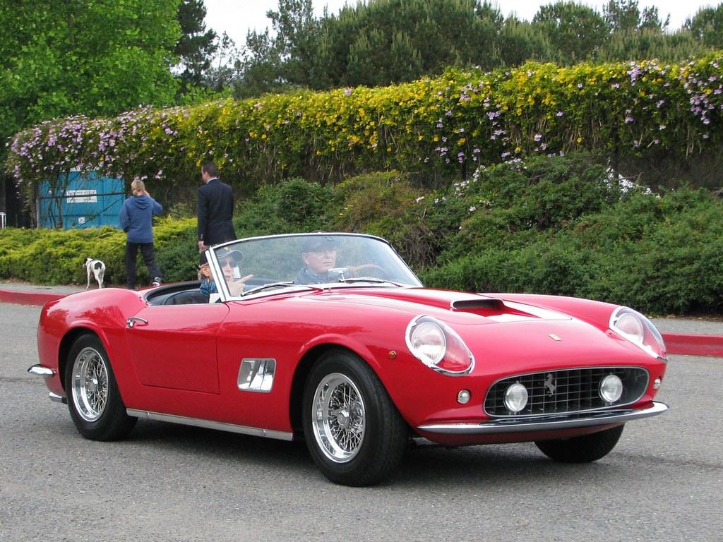 1961 Ferrari 250 Gt Swb California Spyder 1 Photographed A Flickr