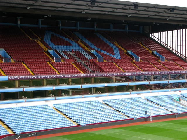 Villa Park North Stand