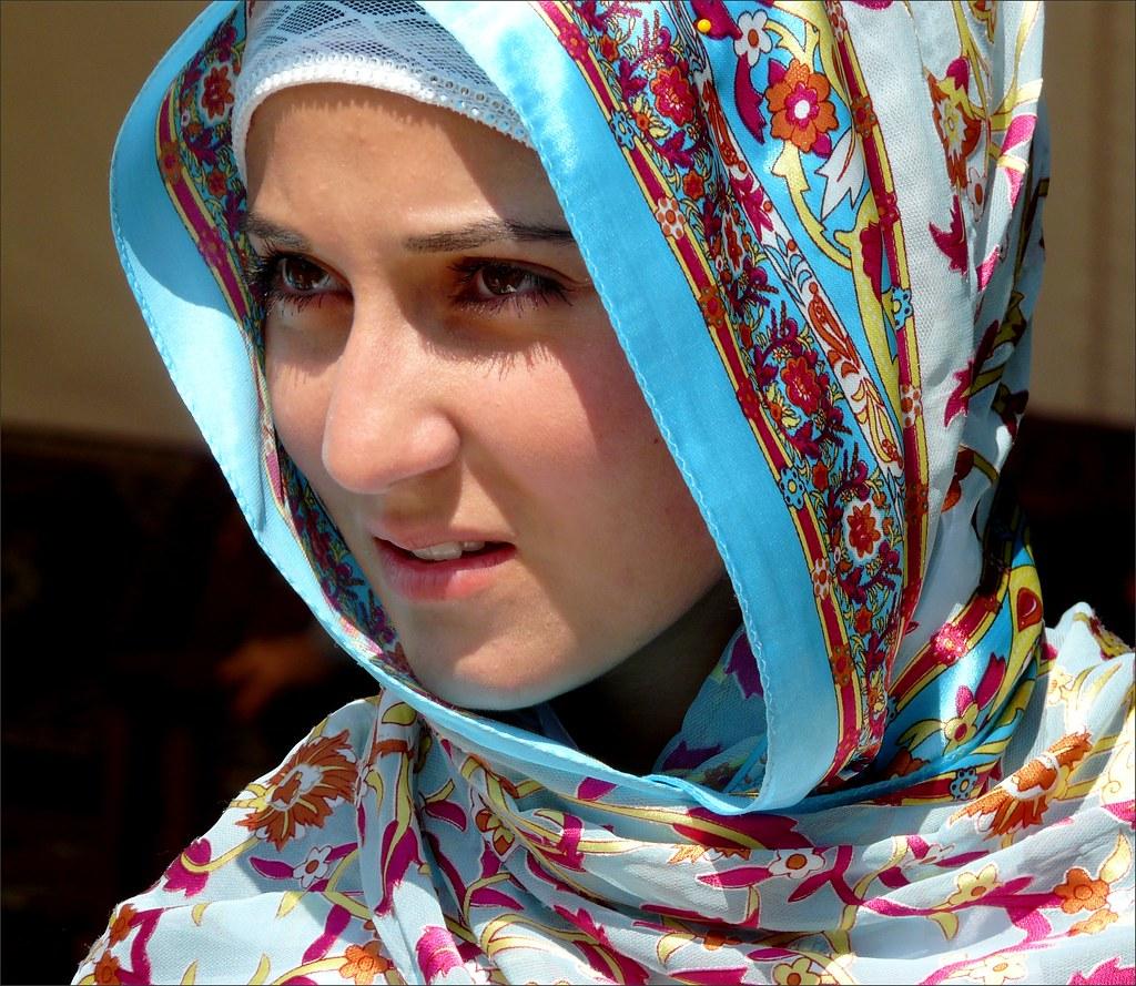 Outdoor turkish hot woman