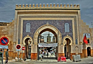 The Blue Gate in Fes, Morocco | by Andrew E. Larsen