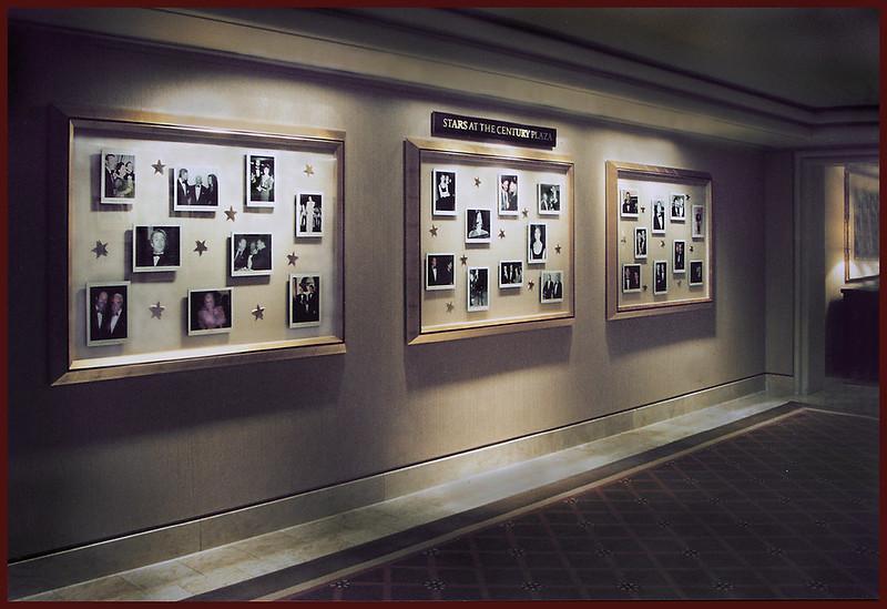 Celebrities at Century Plaza Hotel