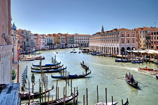 Hotel Ca' Sagredo - Grand Canal - Venice Italy Venezia - photo by gnuckx and HDR processing by Mike G. K. | by gnuckx