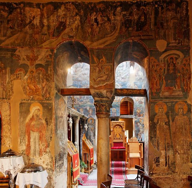 Thessaloniki - ancient wall paper
