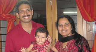 Deepa, Brijesh and Gayathri | by Jennifer Kumar