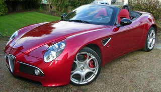 Alfa Romeo 8c Spider | by TheCarSpy