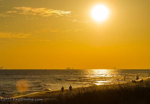 gulfofmexico alabama landscape baldwincountyalabama sunsets baldwincounty dailyphoto sunset d7000 pauldiming gulfshores fall gulfshoresalabama gulfshoresbaldwincounty unitedstates us
