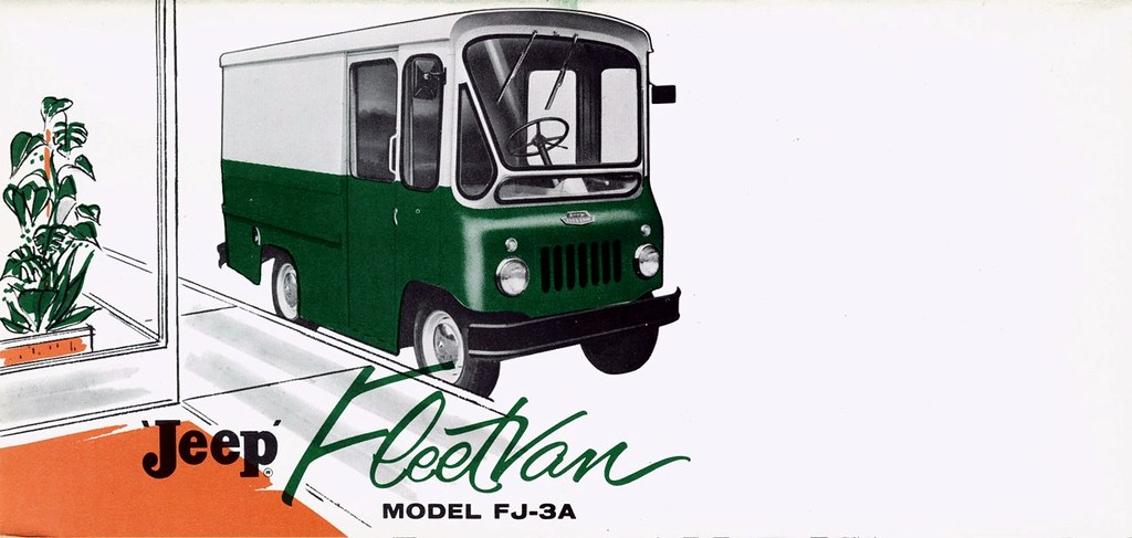ac4ee5300b1 1961 Willys Jeep Fleetvan Model FJ-3A   Alden Jewell   Flickr